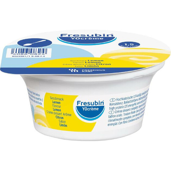 Fresubin YoCreme, VE 4x125g - Lemon