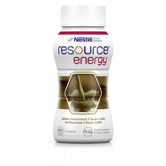 Nestle Resource Energy, Art.Nr. 00183087, VE 4x200ml - Kaffee