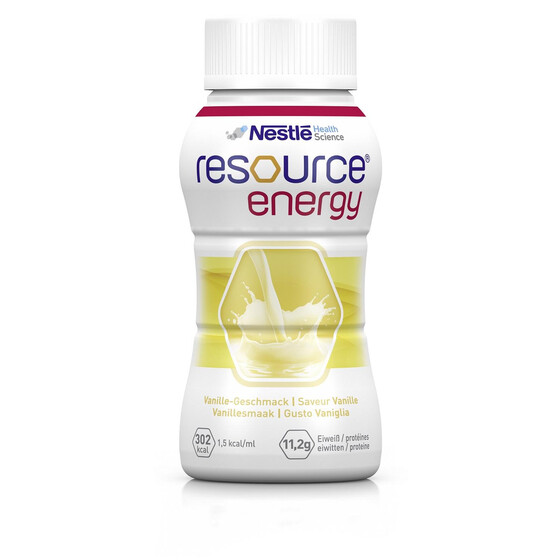 Nestle Resource Energy, Art.Nr. 05526847, VE 4x200ml - Vanille