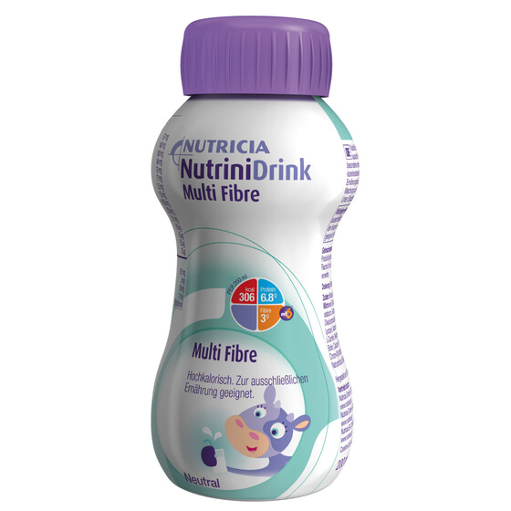 Nutricia Nutrini Drink Multifibre neutral, Art.Nr. 8551932, VE 32x 200ml