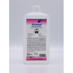 Händedesinfektion Alcoman, Art.Nr. 00983, VE 1000ml