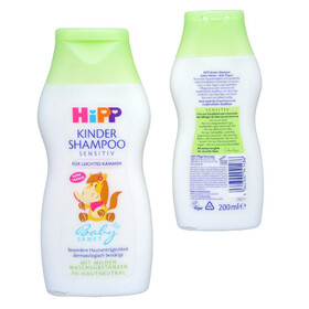 HiPP Babysanft Kinder Shampoo, Art.Nr. 9561, VE 200ml
