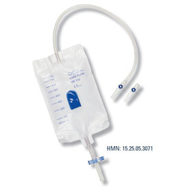 GHC Care Flow UB 750, Beinbeutel, 750ml, 50cm,...