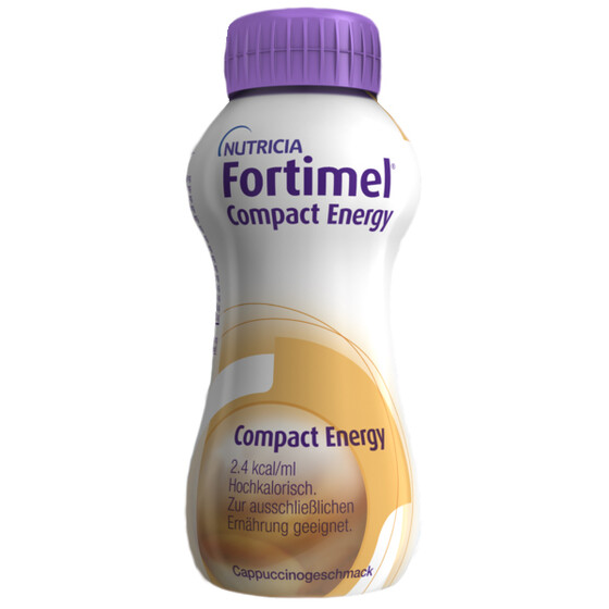 Fortimel Compact Energy, VE 8x4x300ml - Cappuccino